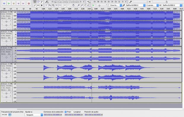 audacity-waveforms