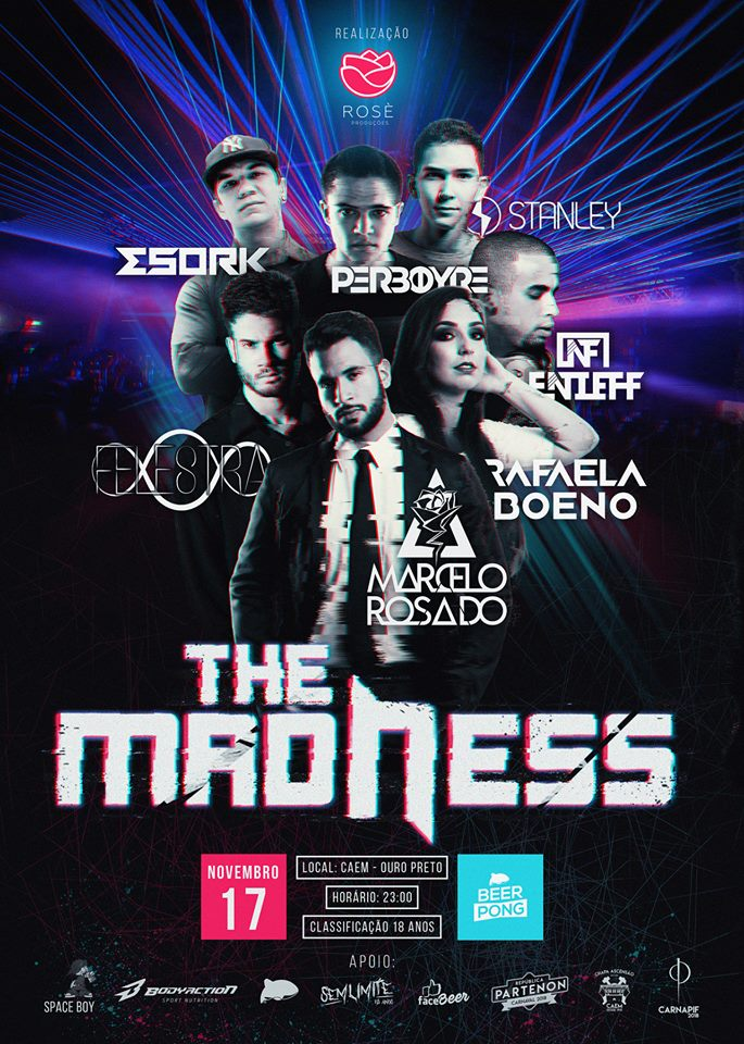 The Madness Line Up