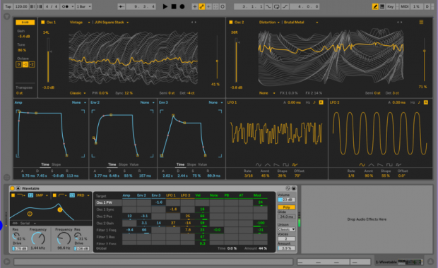 Synth Wavetable completo